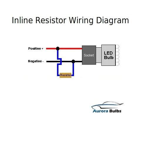 10W LED CANBUS Warning Error Free Load Resistor Kit
