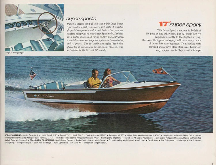 Chris Craft 1965 Constellation Brochure SailInfo I