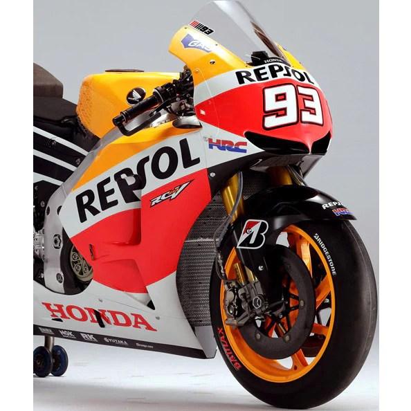Graphics Honda Bull Red