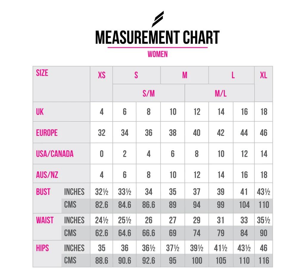 Size Guide – DOYOUEVEN