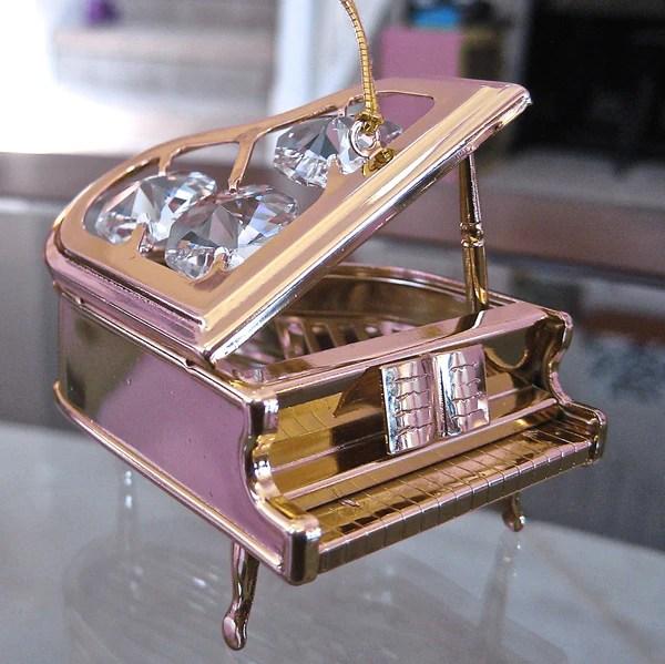 Baby Grand Piano Figurine Ornament Lightpegs