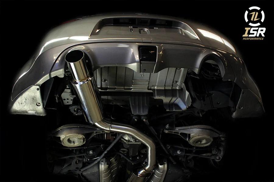 isr performance single exit gt exhaust nissan 370z infiniti g37