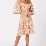 MINKPINK El Royale Midi Dress