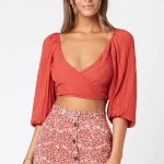 MINKPINK Helena Puff Sleeve Top