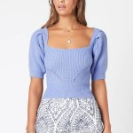 MINKPINK Halston Knit Top
