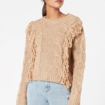 MINKPINK Issey Fringe Sweater