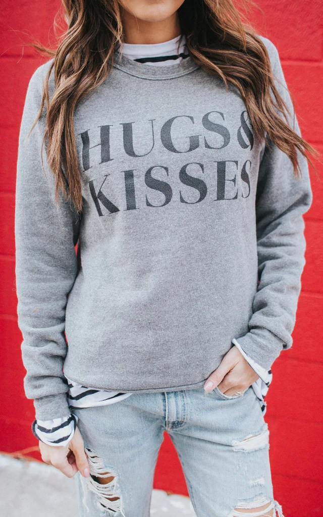 Hugs & Kisses Sweatshirt