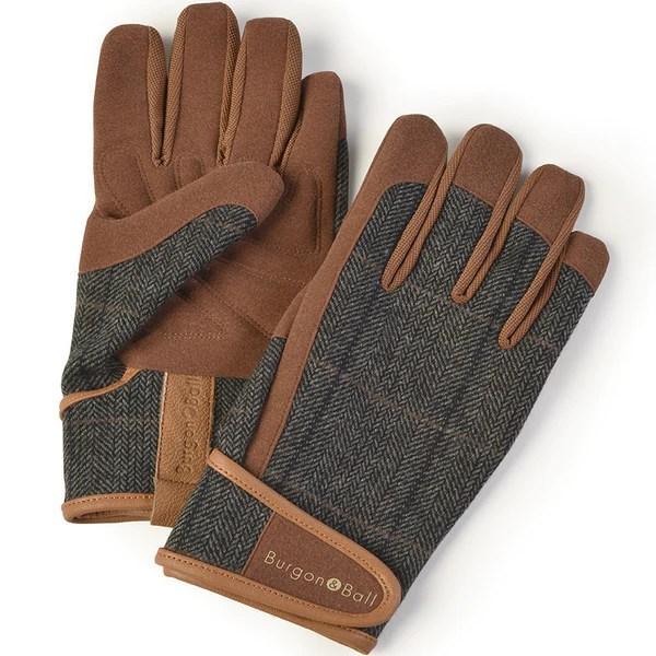 Men's Gardening Gloves - Dig The Glove - Tweed