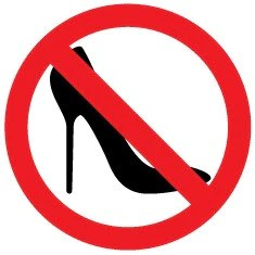 Image result for no heels