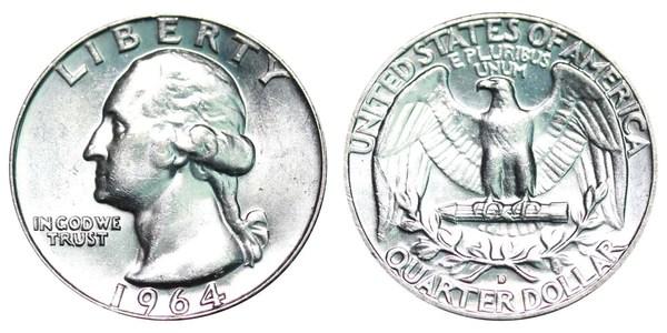 1965 - 1998 Washington Quarter Coin Ring - Birth Year Coin ...