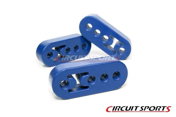 exhaust muffler hanger bushing adjustable universal 12mm circuit sports usa