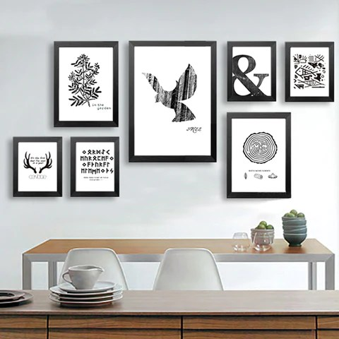Canvas Art Print Poster Animal, Pattern.Wall Art Wall ... on Room Decor Posters id=43394