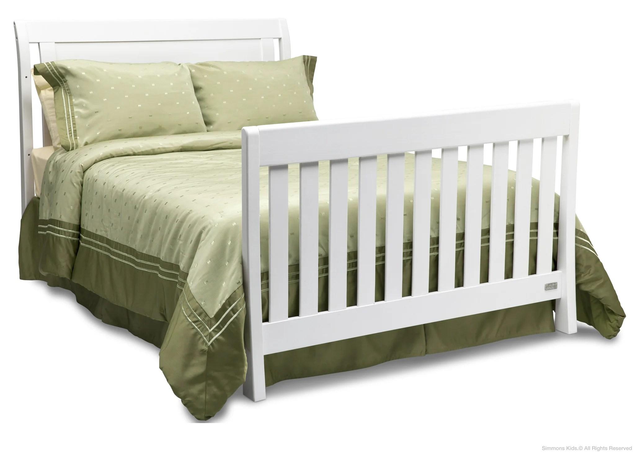 Sleigh Baby Crib Simmons