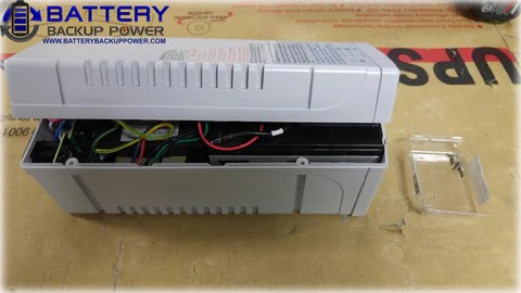 Battery Backup Power Uninterruptible Power Supply (UPS) Battery Replacement Step 2