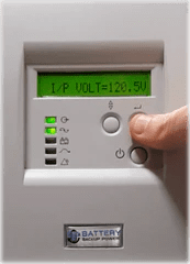 Battery Backup Power Uninterruptible Power Supply (UPS) Input Voltage