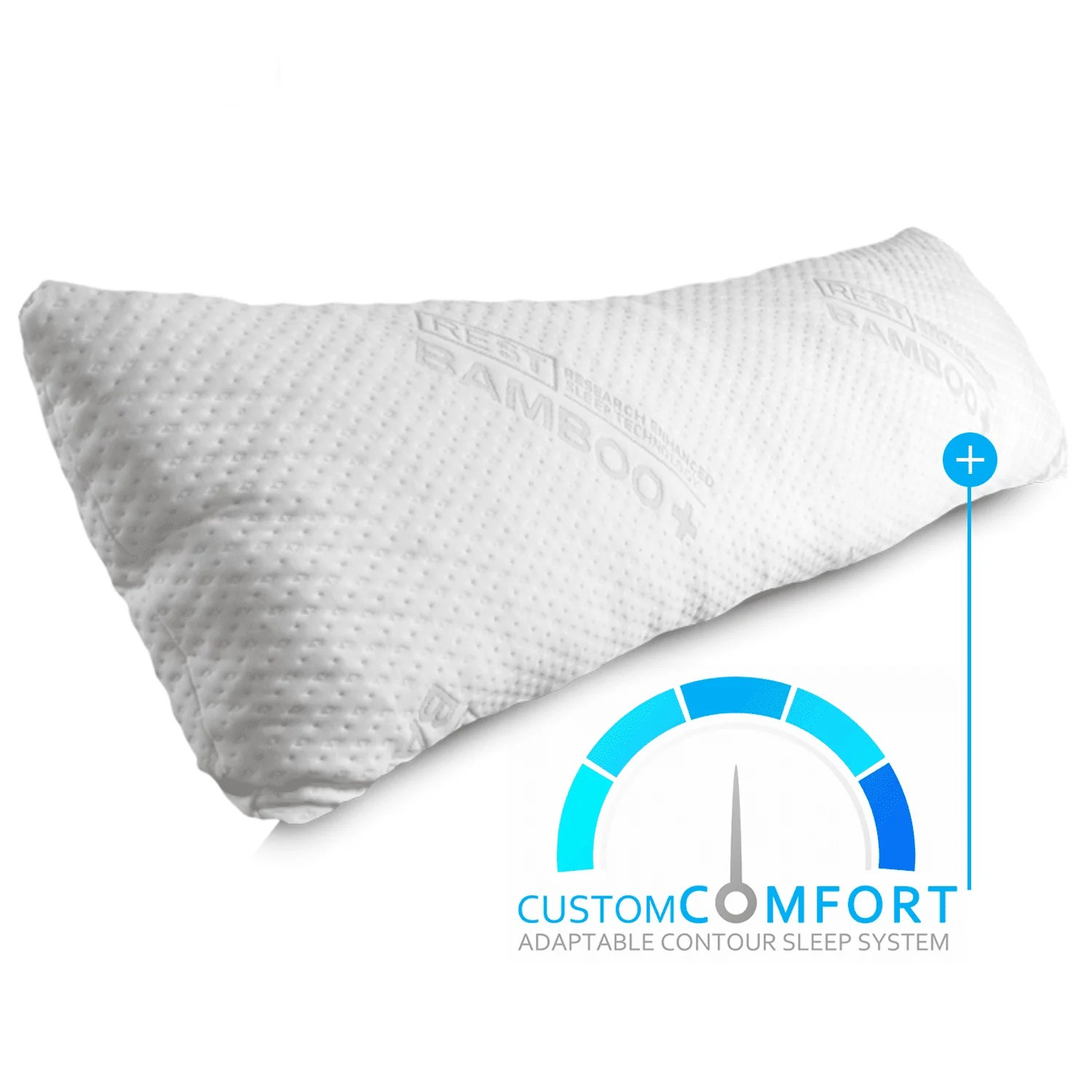 brads deal 40 off rest snuggle buddy memory foam body pillow discount applied in shopping cart