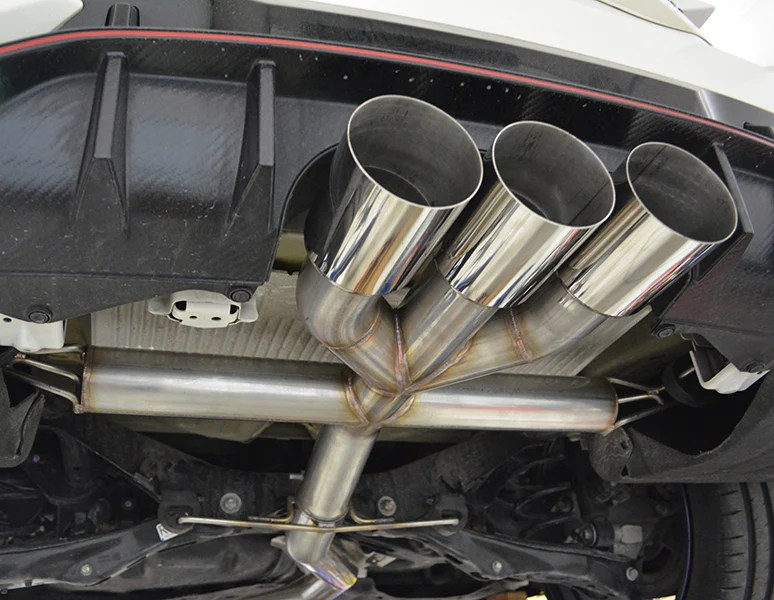 civic type r fk8 2017 catback exhaust track version