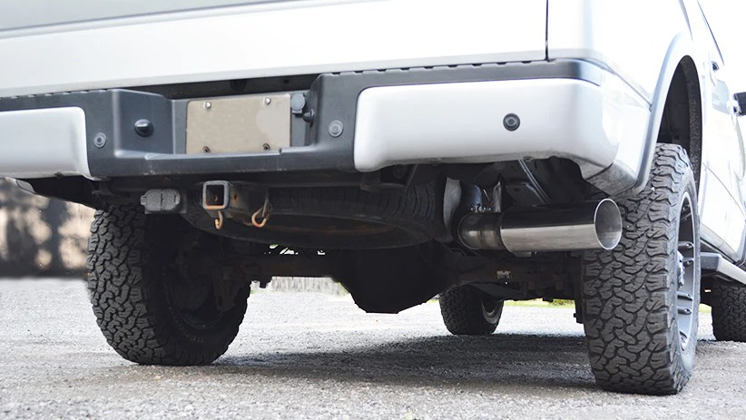 ford f150 ecoboost 2011 2014 4 single side exit catback exhaust