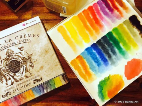 prima watersoluble oil pastels