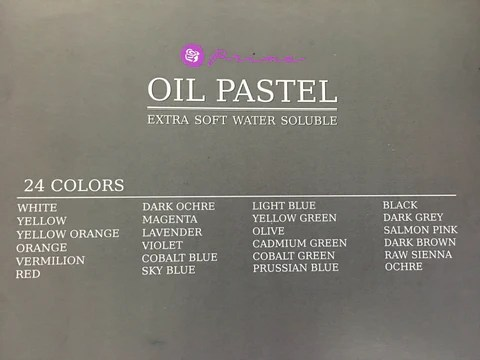 Prima Water Soluble Oil Pastels.