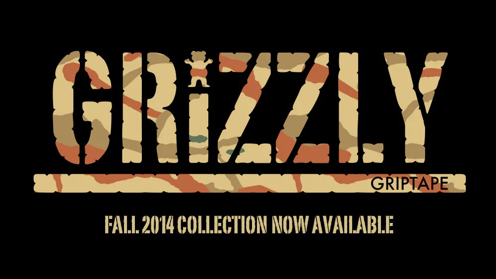 Grizzly Griptape Fall 2014 Collection Now Available