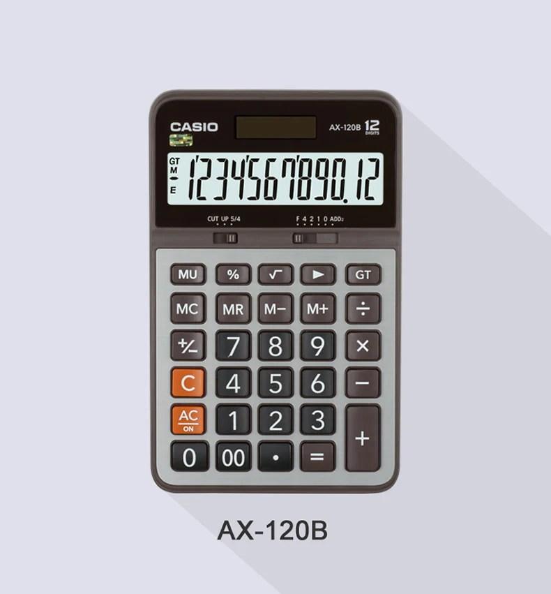 Casio CAX-120B 計算機(12位) – XOBOX.HK
