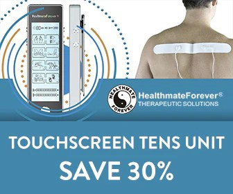 Find the power of pain relief in your pocket with this Touch Screen TENS Therapy Device up to $35 OFF its regular price.