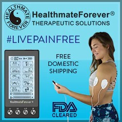 HealthmateForever fda cleared, free domestic shipping, unit, livepainfree