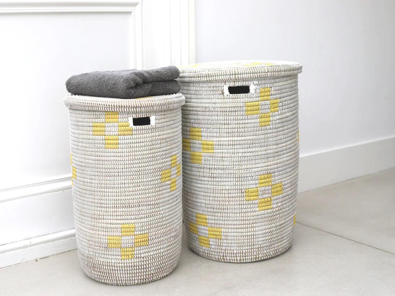 Round Laundry Basket Artisanne