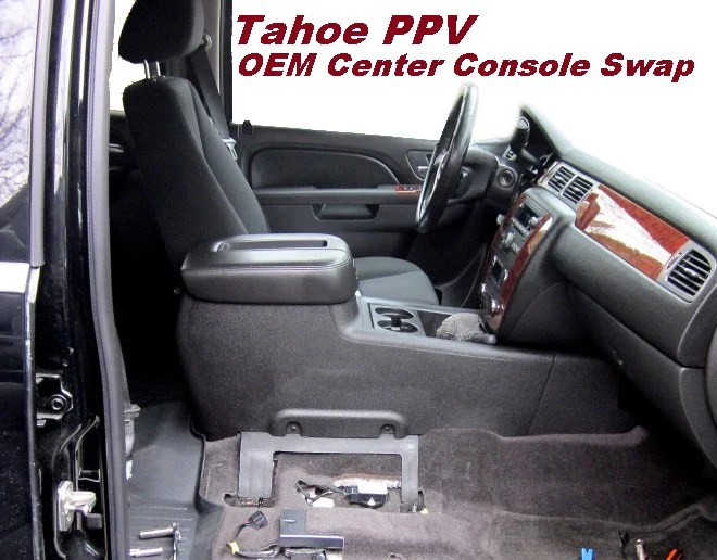 Making A Tahoe Police Vehicle Civilian Ppv Oem Conso Car And Truck Seats