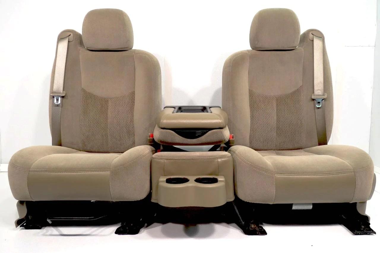 2002 Chevy Silverado Oem Seat Covers
