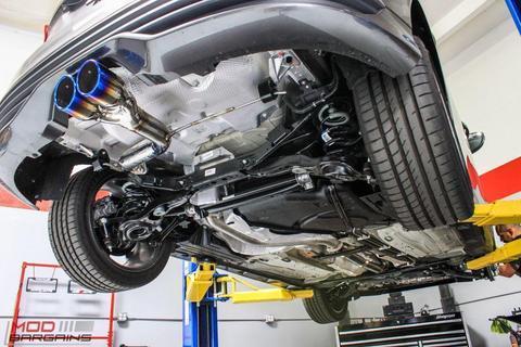 invidia n1 titanium tip cat back exhaust 2013 18 focus st