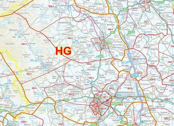 Professional Postcodes Maps England