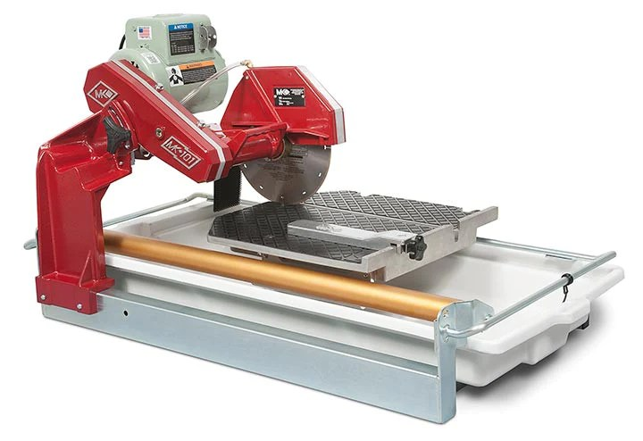 mk 101 24 tile saw with sliding table