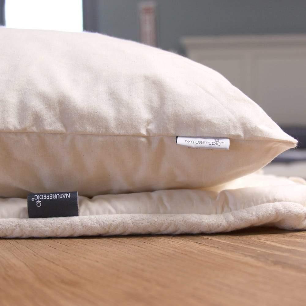 naturepedic organic 2 in 1 latex pillow
