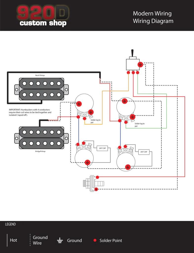 Diagrams  Les Paul Modern Wiring – Sigler Music
