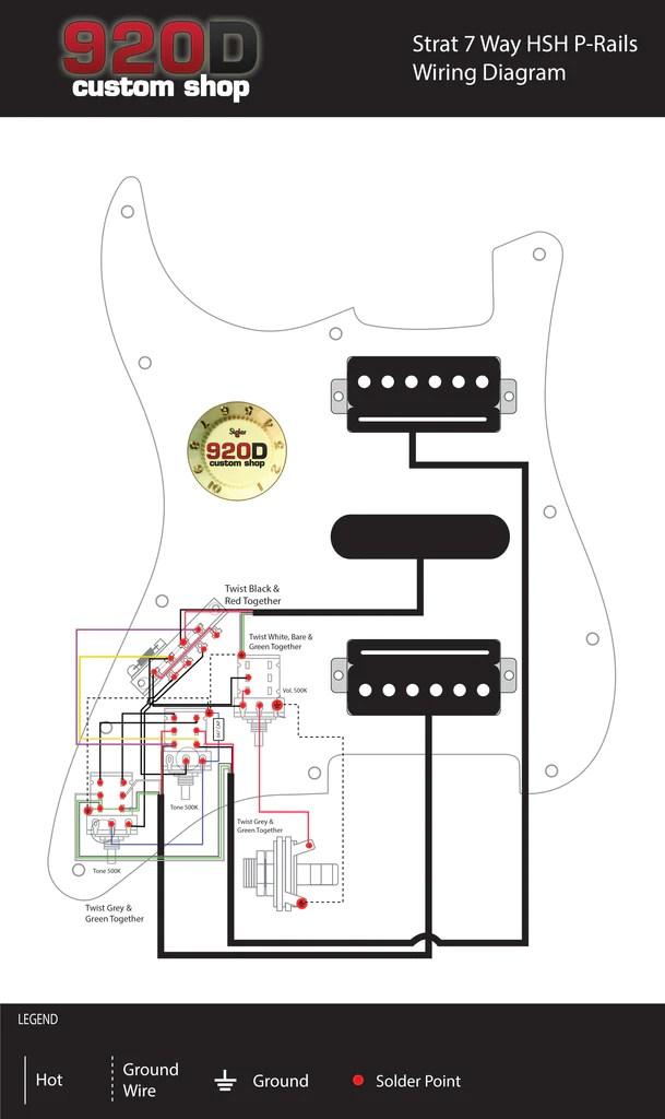 Diagrams  Strat 7 Way HSH PRail – Sigler Music