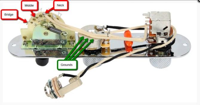 diagrams  telecaster 7 way nashville – sigler music