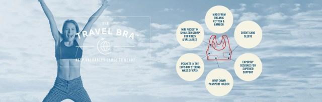 < The Travel Bra >