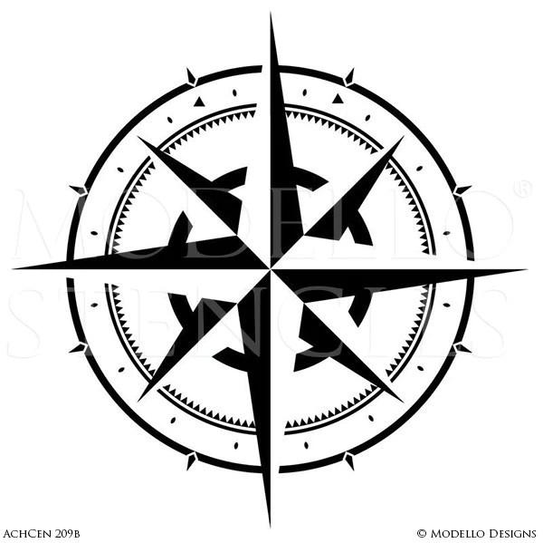 Indian Tribal Pattern Stencils