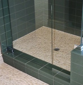 How to Choose A Pebble Tile For A Shower Floor   Beyond Tile A