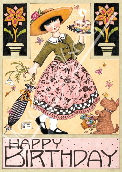 Butterfly Birthday Greeting Card Mary Engelbreit