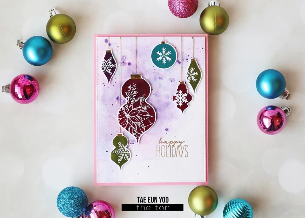 Holiday Ornaments Printables Digital File The Ton