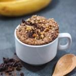 Protein Banana Bread Mug Cake Tropeaka