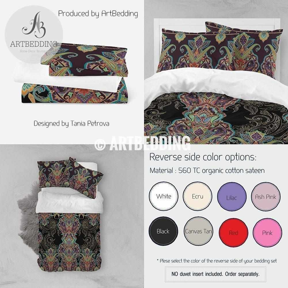 indian traditional bed sheet cotton