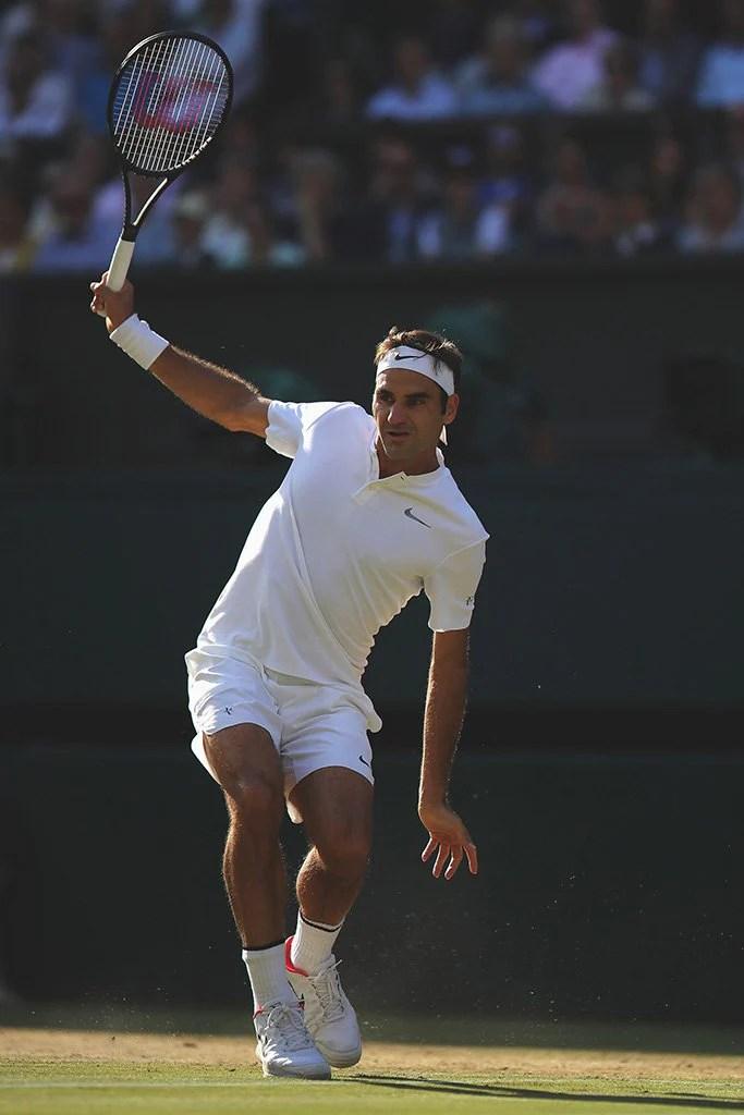 roger federer tennis player poster