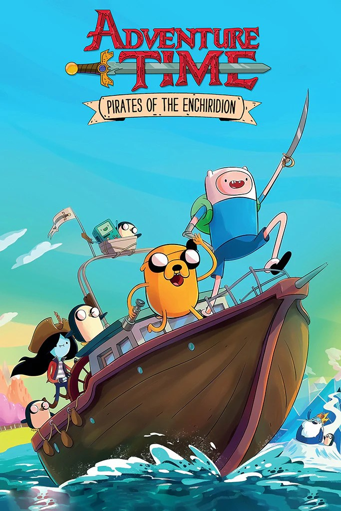 adventure time pirates of the enchiridion poster