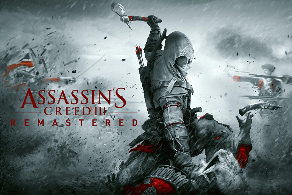 assassin s creed iii remastered video game poster