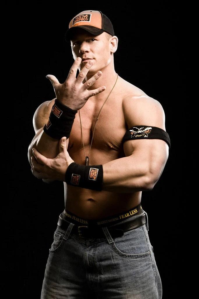 john cena wrestler bodybuilder rapper wwe poster