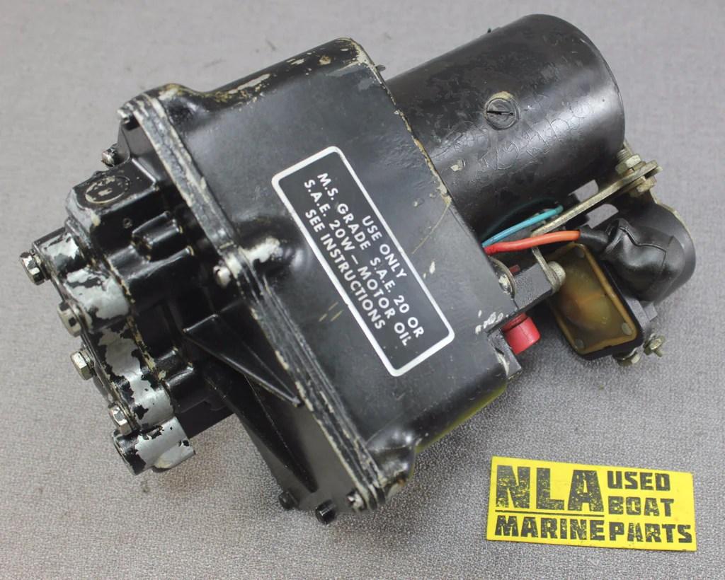 MerCruiser Pre Alpha One MR Power Trim Tilt Pump Motor